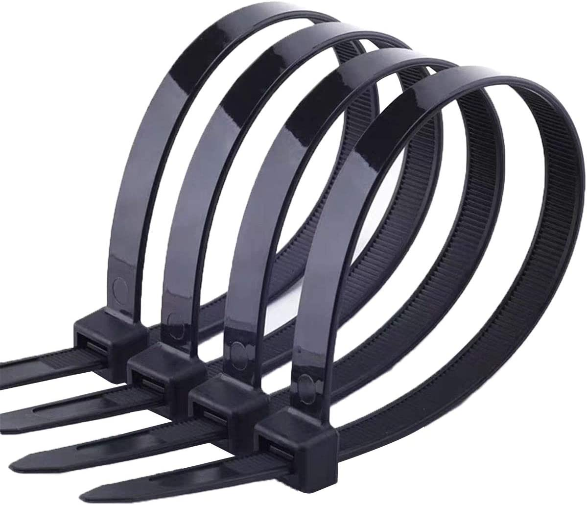 Tensile Strength Wire /& Cord Management // Industrial // Household Use 17 Inch. 50 Pk 175 Lbs Nylon Zip Tie SecuriTie CT17-17550 Extra Heavy-Duty Cable Ties Natural Actuant