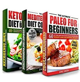 DIET BOOKS: Paleo Cookbook, Mediterranean Diet and