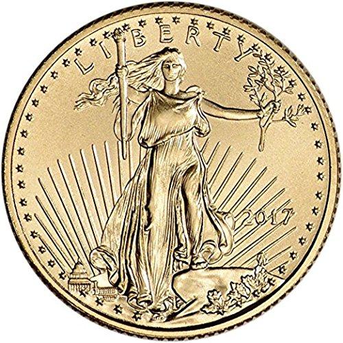 2017 American Gold Eagle 1/10 oz $5 Uncirculated US Mint