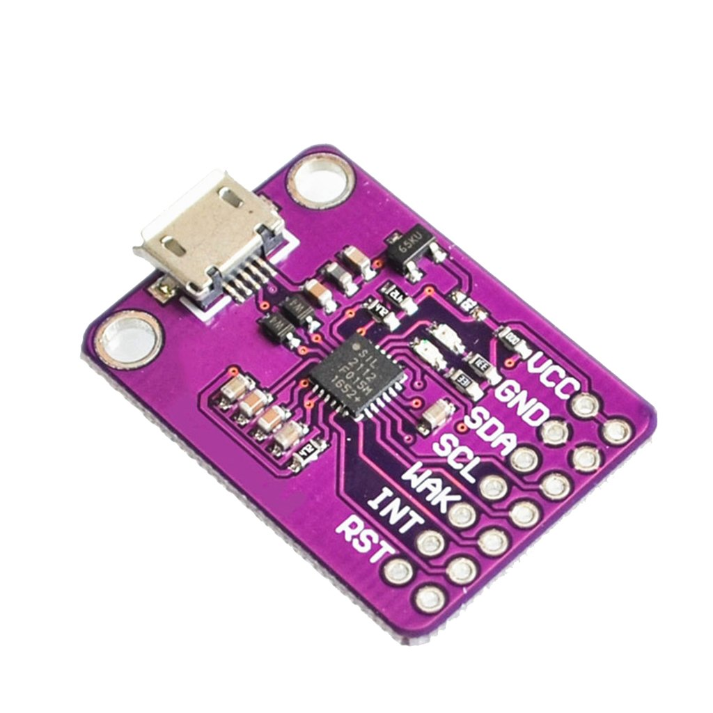 D DOLITY Durable CP2112 Evaluation kit for CCS811 Debug Board USB To I2C Communication Module