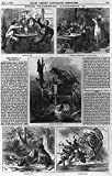 Vintography Reproduced Photo of: Home Incidents,Accidents,Fatal Card,Mississippi Steamboat,Gambling,Sunday Picnic