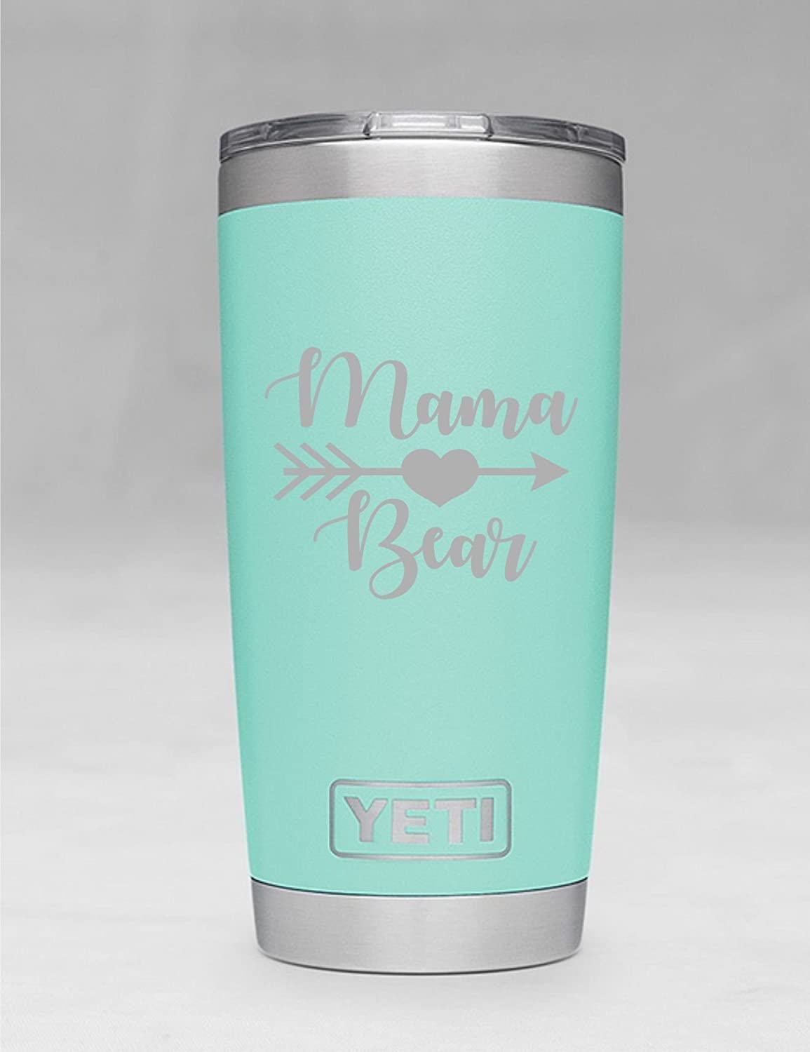 Mama Bear Yeti Tumbler Additional Colors Available Engraved Yeti Rambler 20 Oz Yeti 30 Oz Yeti Personalized Yeti Yeti Gift Laser Engraved