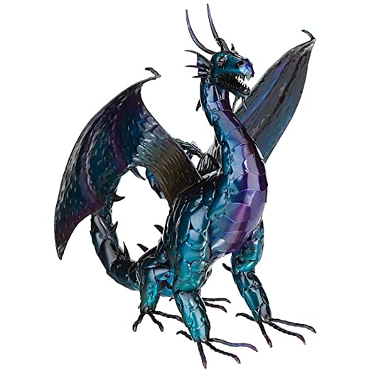 Regal Art & GIF tFire Dragon Decor 22 Pulgadas, Color Morado ...