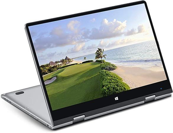 BMAX Y11 Ordenador Portatil, 2 en 1 Táctil Convertible Laptop 11.6 Pulgadas FHD 1080P Pantalla (Intel Quad Core N4120, 8GB RAM, 256GB SSD, Windows 10 Home) Cuerpo Totalmente metálico: Amazon.es: Informática