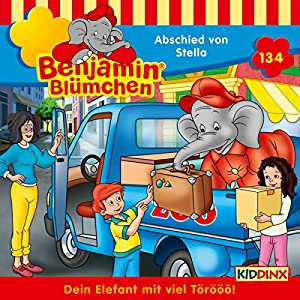 Abschied von Stella (Benjamin Blümchen 134) Hörspiel