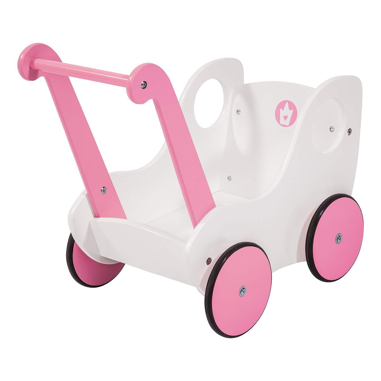 Amazon.es: Bayer Design- Andador del niño de Madera, Color Rosa ...