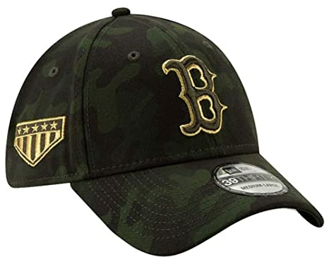 new style 27db9 dc28f New Era 2019 MLB Boston Red Sox Hat Cap Armed Forces Day 39Thirty 3930 (S