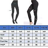 3wmall Black High Waist Workout Capri Leggings