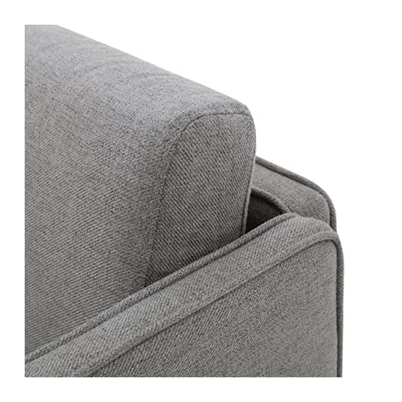 "Christopher Knight Home Sullivan Fabric Loveseat, Grey - Includes: one (1) Loveseat Dimensions: 26. 25""D x 52. 50""W x 27. 25""H Color: Grey - sofas-couches, living-room-furniture, living-room - 61SWDbdFdhL. SS570  -"