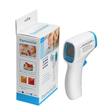 Amazon.com : Baby Digital Thermometer, Tinabless Forehead and Ear Thermometer for Baby, Adults and Object Temperature Measuring, Non-Contact Infrared ...