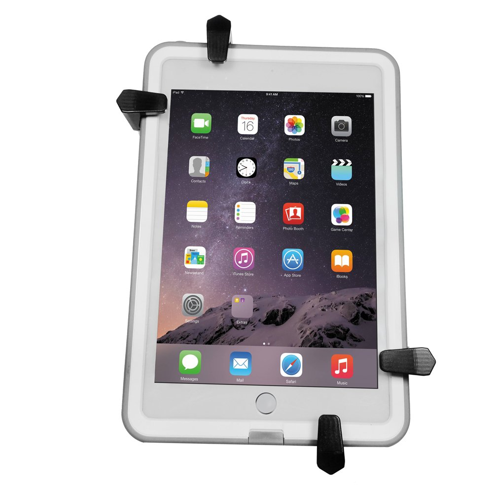 Universal Mount Cradle for iPad Air, iPad mini, Samsung Galaxy Tab and many more! Compatible with MyGoFlight Sport Mounts. MyGoFlight Sport Universal Cradle