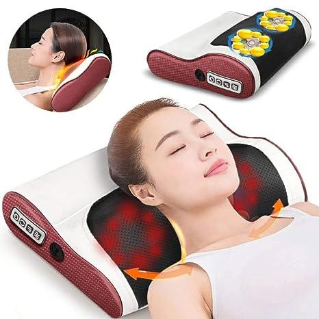 Almohada de masaje cervical, masajeador eléctrico de cuerpo ...