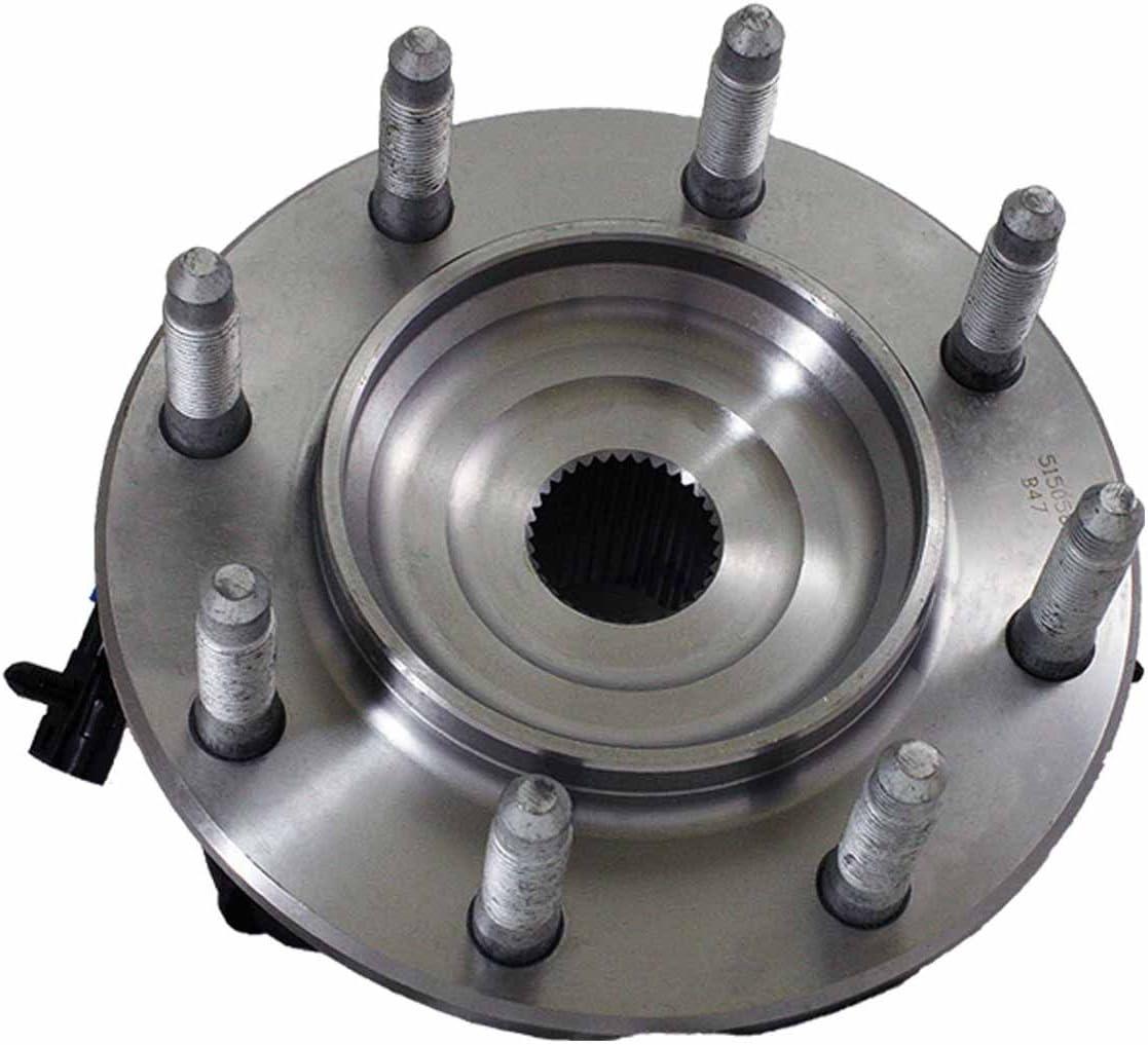 HU515058HD x2 New Front Set Wheel Bearing Hub Assembly