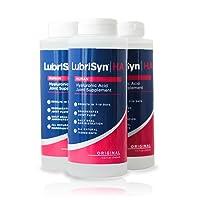 LubriSynHA Human Joint Supplement, Original 3 x 11.5oz – All-Natural, High-Molecular...
