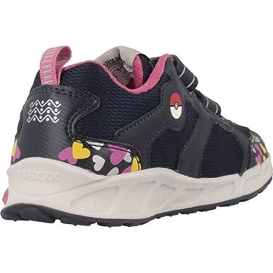 GEOX Les chaussures clignotantes avec bouton marchearrêt