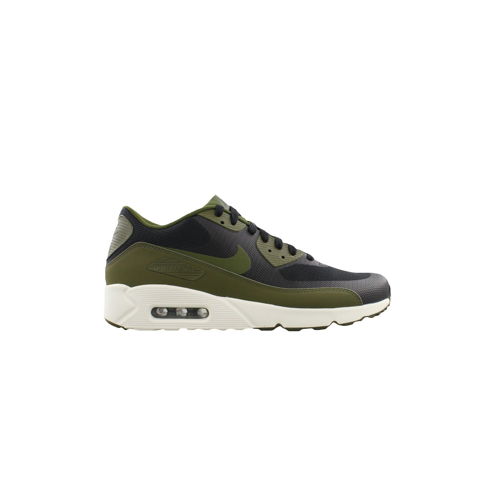 online store bfe84 240ec Galleon - Nike Air Max 90 Ultra 2.0 Essential Black Legion Green-Sail (11  D(M) US)