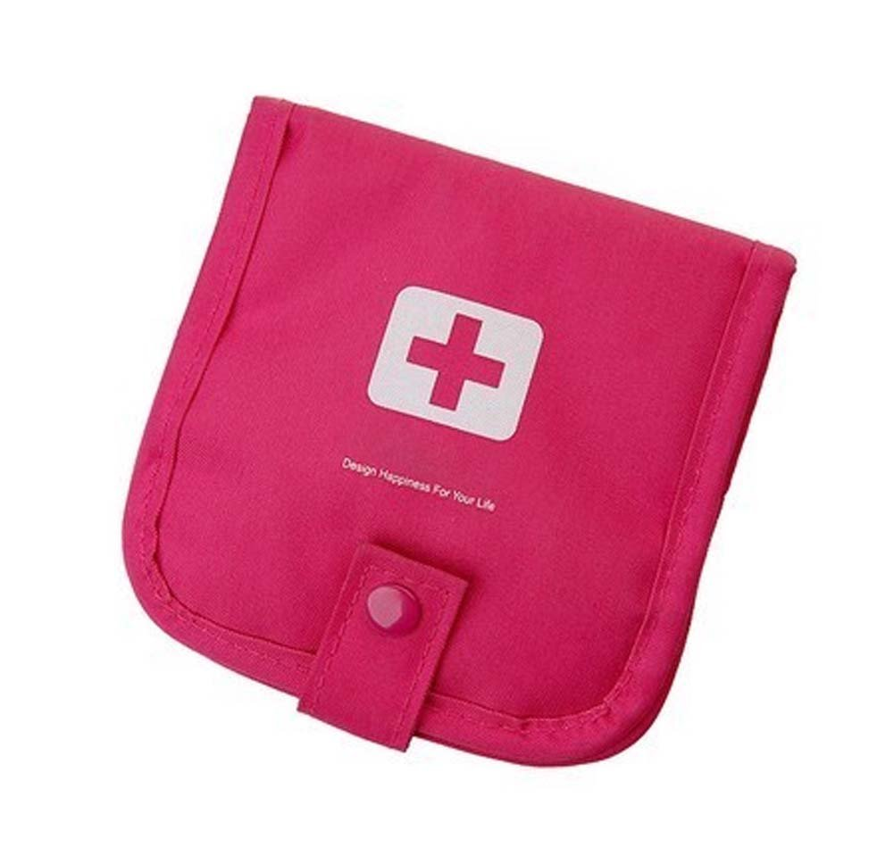 Travel First Aid Empty Kit Bag Portable Medicine Box Storage Package