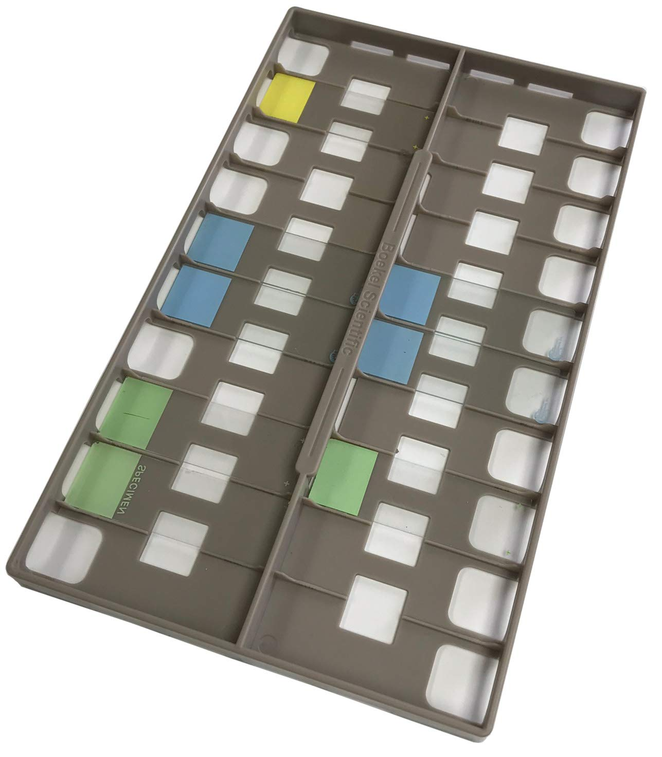 Plastic Slide Holder for InSlide Out Hybridization Oven, Holds 18 1 x 3 Inch Slides by Boekel Scientific, Inc. (Image #1)