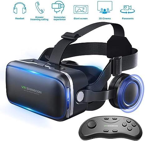 Aili VR Gafas, 3D VR Headset Auriculares De Realidad Virtual Box ...