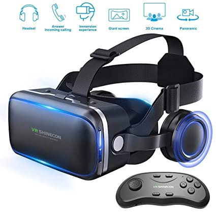 032d97a649a Pansonite Vr Headset With Remote Controller