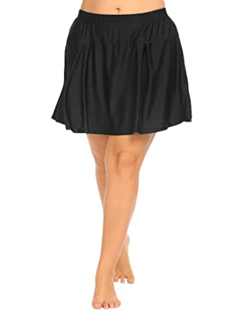 86f51d9b6b IN VOLAND Women s Plus Size Casual Athletic Skort Lightweight Tennis Skirt  with Shorts