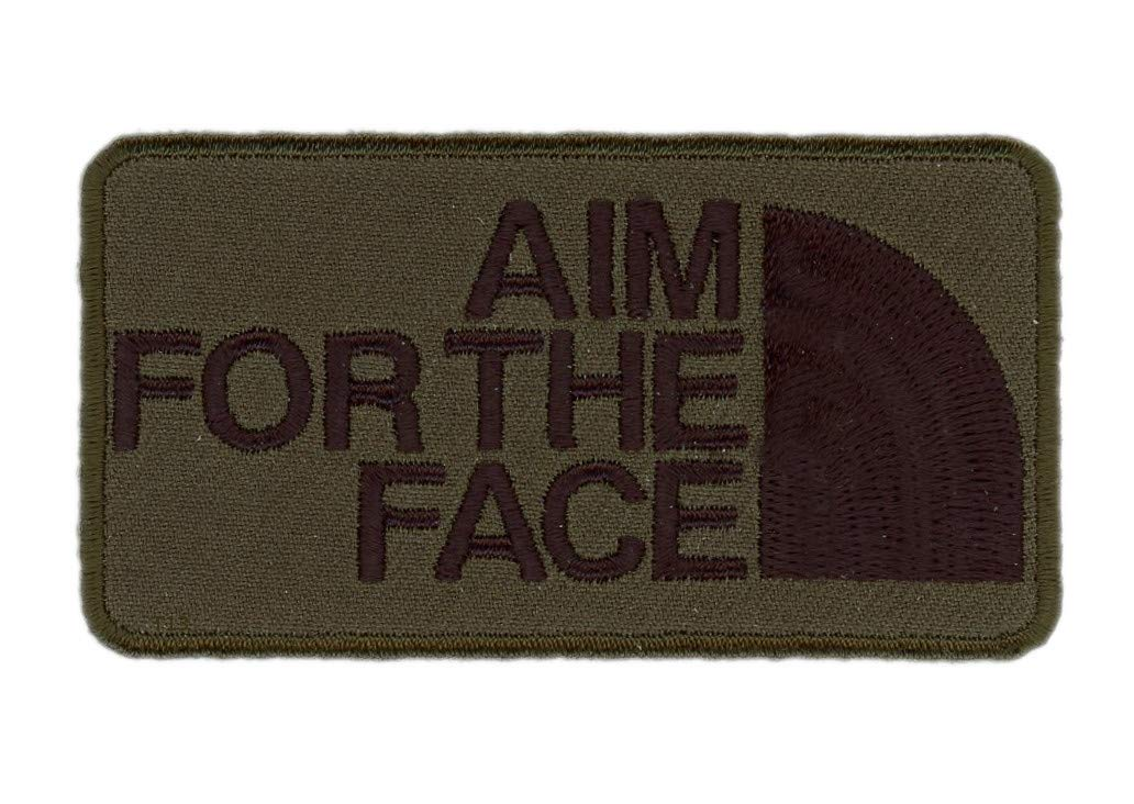 Titan One Europe Tactical Aim For The Face Camo Green Patch