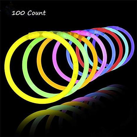 Glow Sticks,Pulseras luminosas Party Supplies viene con ...