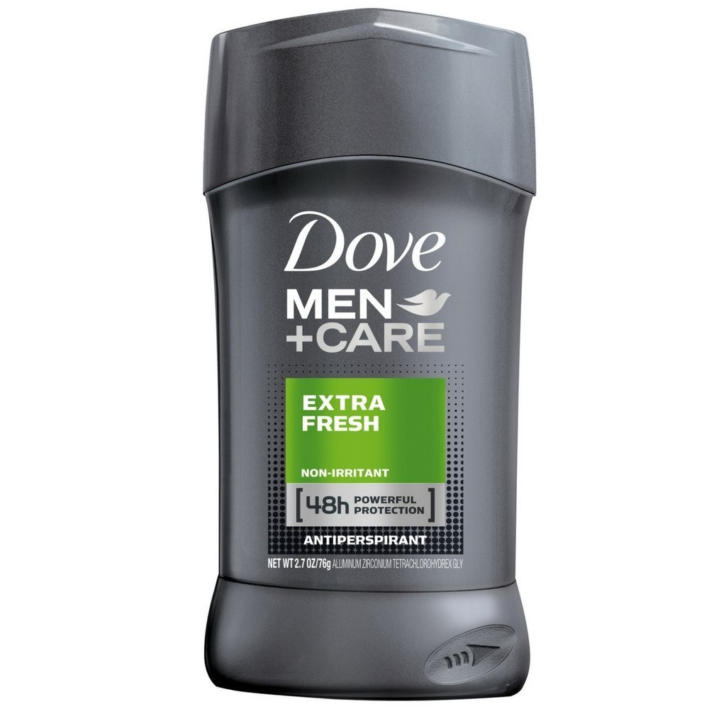 Dove Men Care Men+Care Antiperspirant Deodorant Stick Extra Fresh 2.7 oz(Pack of 4)