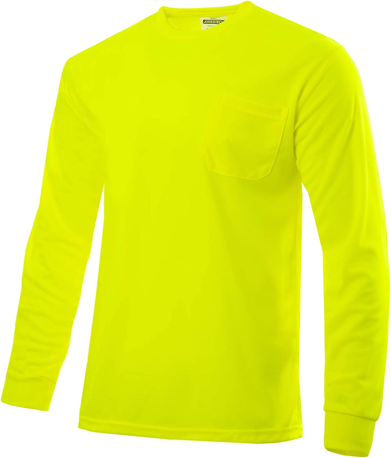JORESTECH High Visibility T-Shirt with Pocket Long Sleeve