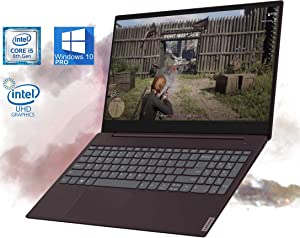 "Lenovo IdeaPad S340 15.6"" FHD Notebook, Intel i5-8265u Upto 3.90GHz, 16GB RAM, 512GB m.2 NVMe SSD, USB Type-C, HDMI, SD Card Reader, Webcam, Bluetooth, AC Wi-Fi, UHD Graphics - Windows 10 Pro"