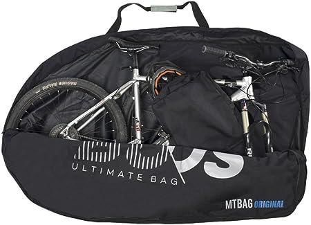 Buds-Sports - Bolsa de Bicicleta MTBag Original - Bolsa de Transporte para Bicicleta de montaña sin Desmontar la Rueda Trasera: Amazon.es: Bricolaje y herramientas