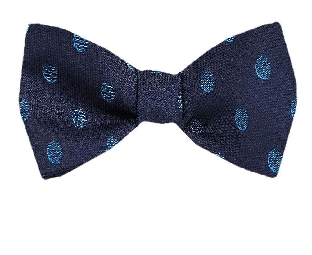 Tie yourself Bow Ties Silk Mens Dot Self tie Bowtie