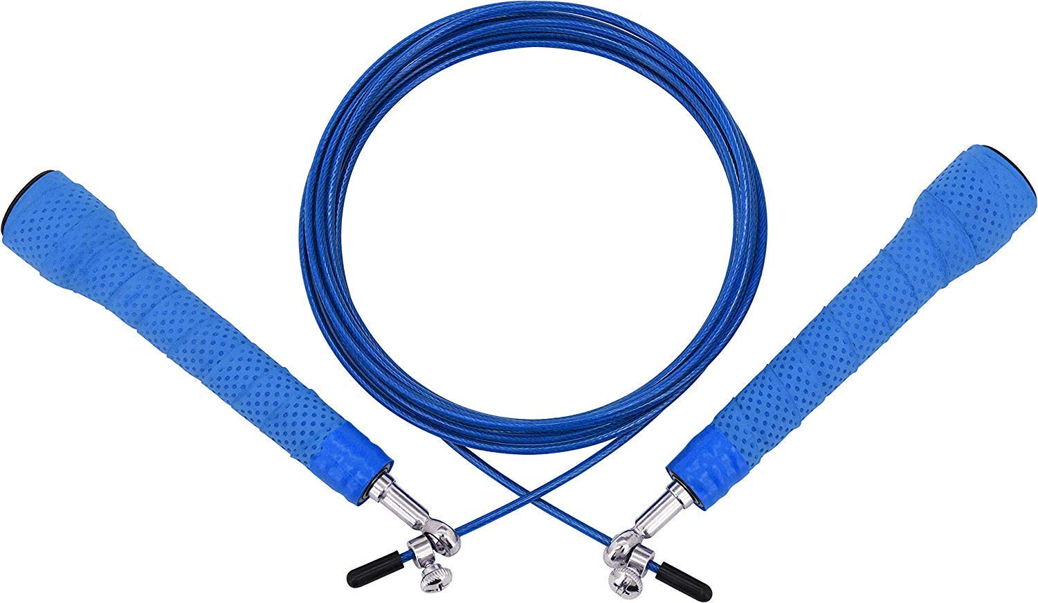RDX Skipping Rope Gymnastics Fitness Adjustable Gym PVC Jump MMA Boxing Metal Cable Workout Speed Fat Loss Weight Jumping Exercise High Intensity Interval Training