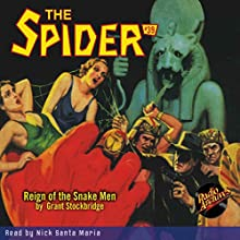 The Spider: Spider #39 December 1936 Audiobook by Grant Stockbridge,  Radio Archives Narrated by Nick Santa Maria