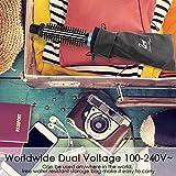 SwanMyst Curling Iron Brush, Dual Voltage