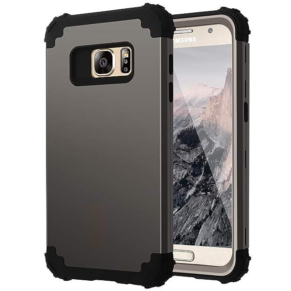 Casewind Galaxy S7 Case,S7 Case, Samsung Galaxy S7 Case Heavy Duty 3 in 1 Hybrid Hard PC Soft Silicone Shockproof Anti Scratch Rugged Bumper Full Body ...