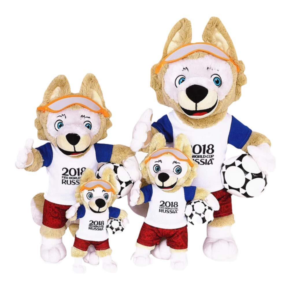 WMS 2018 Russian Century Cup Maskottchen Puppe Plüschtier Plüsch