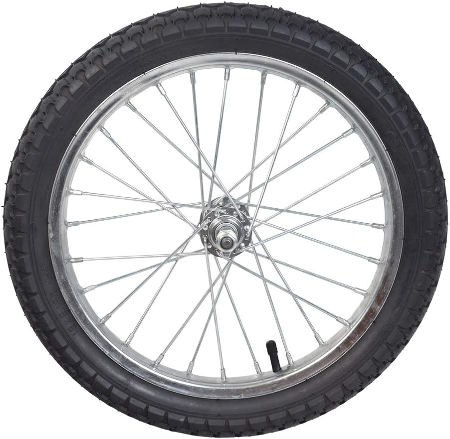 AlveyTech 16 Front Wheel Assembly for The Razor iMod and EcoSmart Metro Electric Scooters