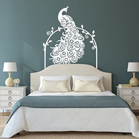 Ordinaire Vinyl Peacock Wall Decal Animal Wall Decal Bird Wall Decal Peafowl Art Wall  Stickers Wall Graphic