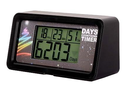 NINE-RONG - Reloj Digital con Cuenta atrás para el día de 9 999 con