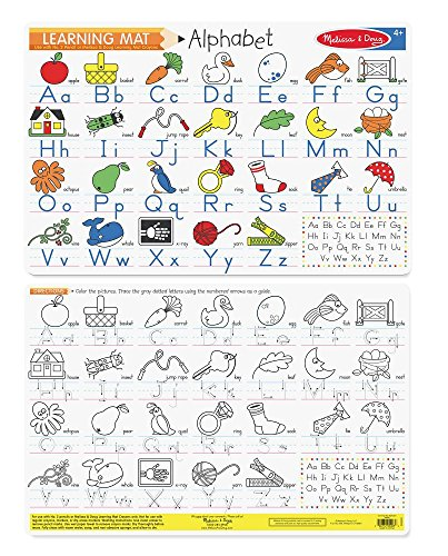 Melissa Doug Alphabet Write A Mat Puzzle