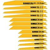 DEWALT Lâminas para serras reciprocas, conjunto bi-metal com caixa, 12 peças (DW4892)