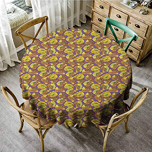 Rank-T The Restaurant Round Tablecloth 55
