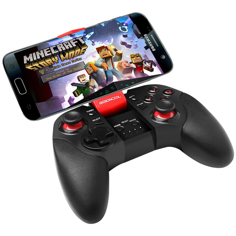 samsung tv game controller. Amazon.com: Android Bluetooth Phone Controller, BEBONCOOL Game Gamepad (For / Tablet Samsung Gear VR Tv Controller H