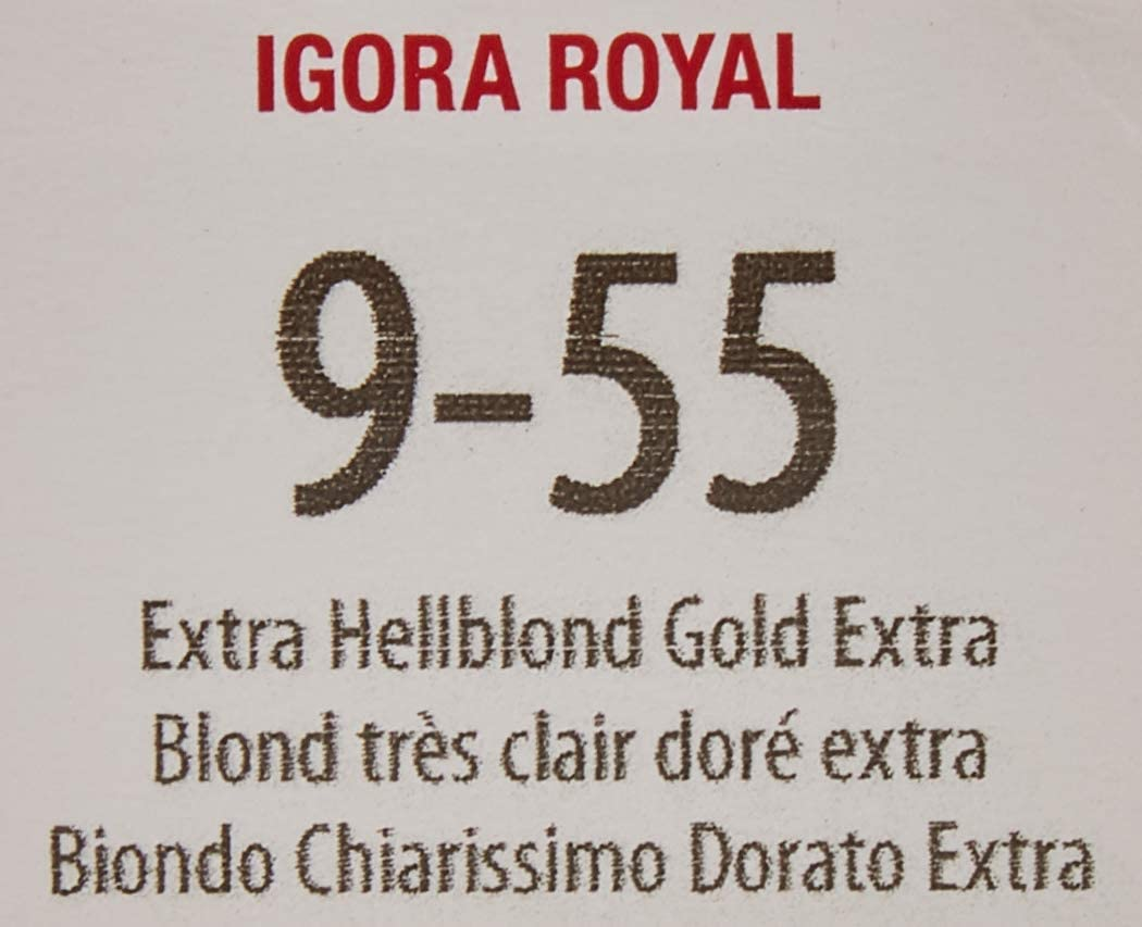 Schwarzkopf IGORA ROYAL 60ml, Color 9-55 (9-5 ANTIGUO)
