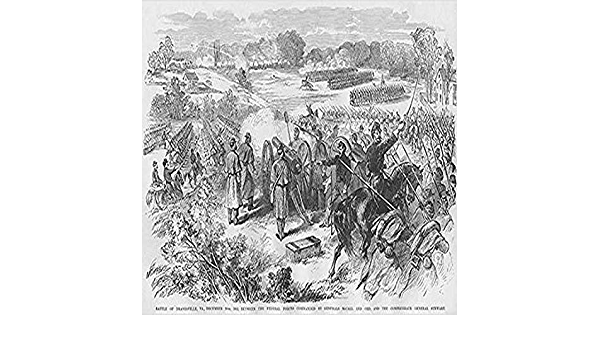 Amazon Com Battle Of Dranesville Virginia Poster Print By Frank Leslie 18 X 24 Posters Prints