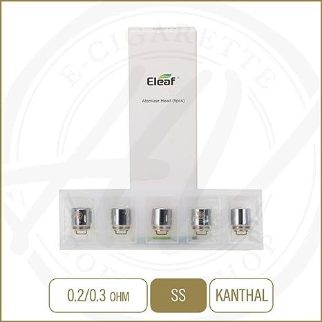 Cabezas de bobina auténtica Eleaf HW1 para Ello Mini XL / Ello Mini / Cigarrillo electrónico