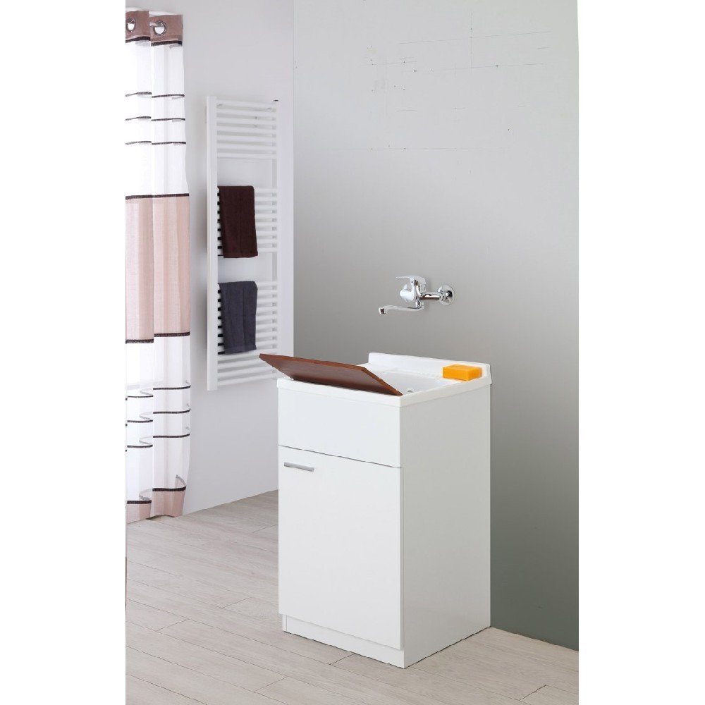 FERIDRAS Stella Lavatoio, Bianco, 50x50x83 cm Brand 799039