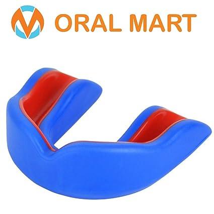 Oral Mart Jóvenes Boca Protector para niños - Juvenil Protector bucal para el Karate (con