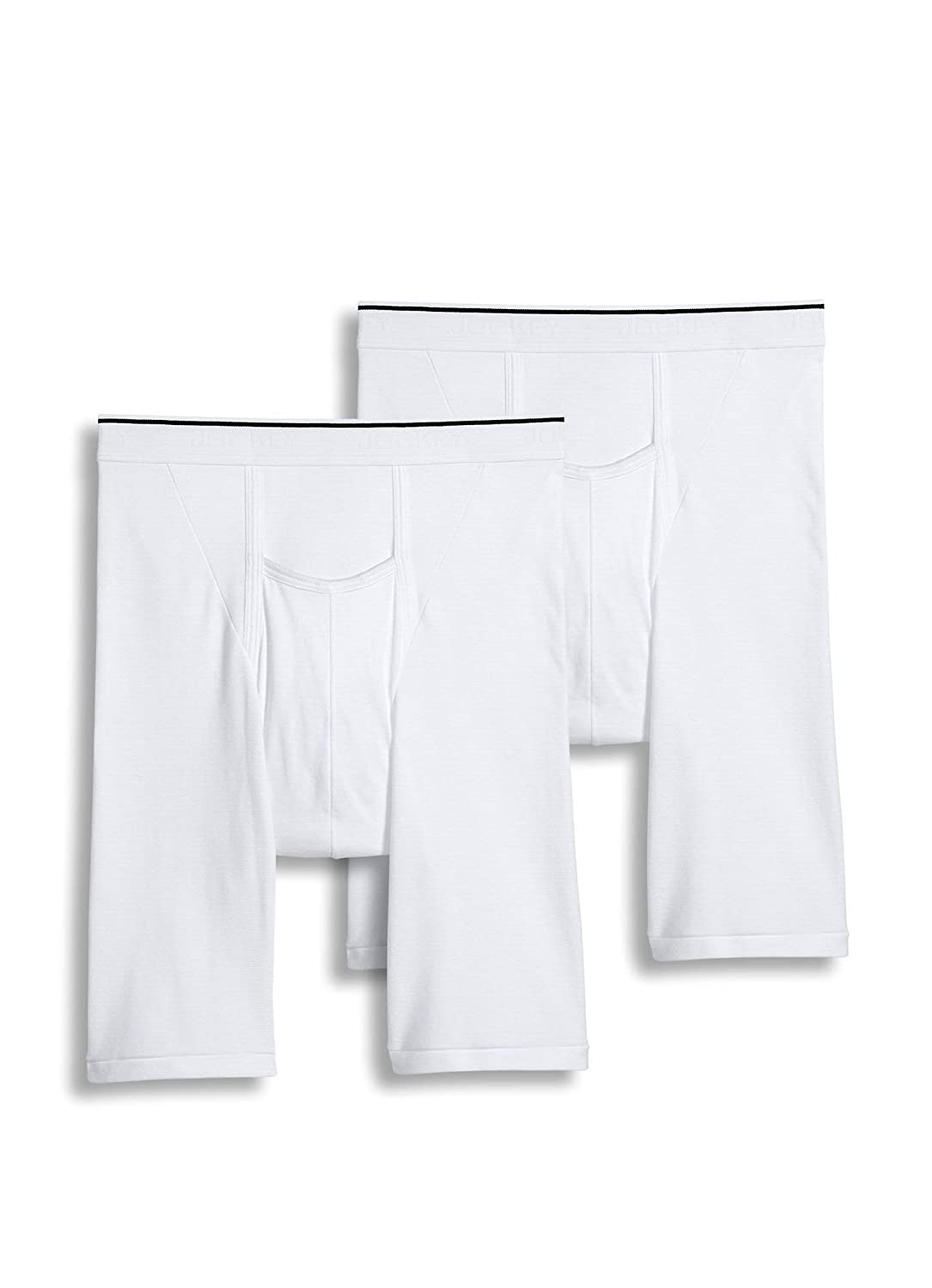 Jockey Men's Pouch Athletic Midway Brief 2-Pack Jockey Underwear Mens 1147-100